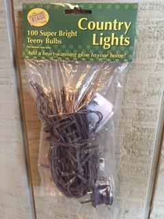 100 Count Country Teeny Lights-Teeny Lights, Country Lights, Lights