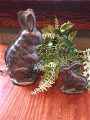 Small Metal Rabbit-Rabbit, Bunny, Candy Mold