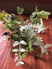 Mixed Foliage Bush-Greenery, Bush, Stem, Pick, Foliage, Branch