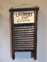 Washboard Laundry Sign-laundry, washboard