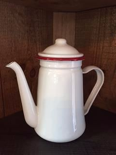 Enamel Coffee Pot-Enamel, Coffee Pot, Tea Pot