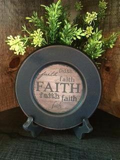 Faith Plate-Plate, Faith, Family, Friends