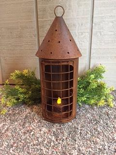 Rusty Lantern-Lantern, Rusty, Railroad