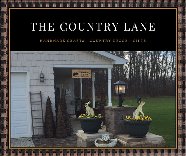 The Country Lane Title Image for Spring